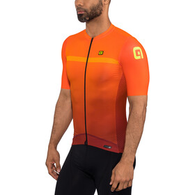 Alé Cycling PRS Fade Cykeltrøje Herrer, bordeaux-flou orange